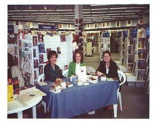 Booksigning  with Claudia Dian, Me and                                                                                  Kathryn Fox - at Waldenbooks, Raleigh